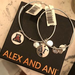 Alex and ani DELTA GAMMA bracelet